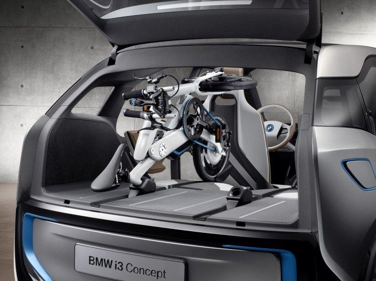 Bmw Unveils I Pedelec Bicycle Concept Images Bmw I3 Bmw Bmw I3 Electric