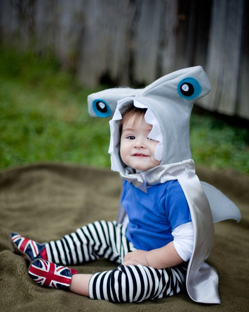 Child Hammer Head Shark Costume