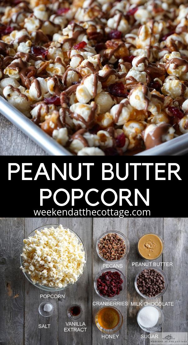 Peanut Butter Popcorn