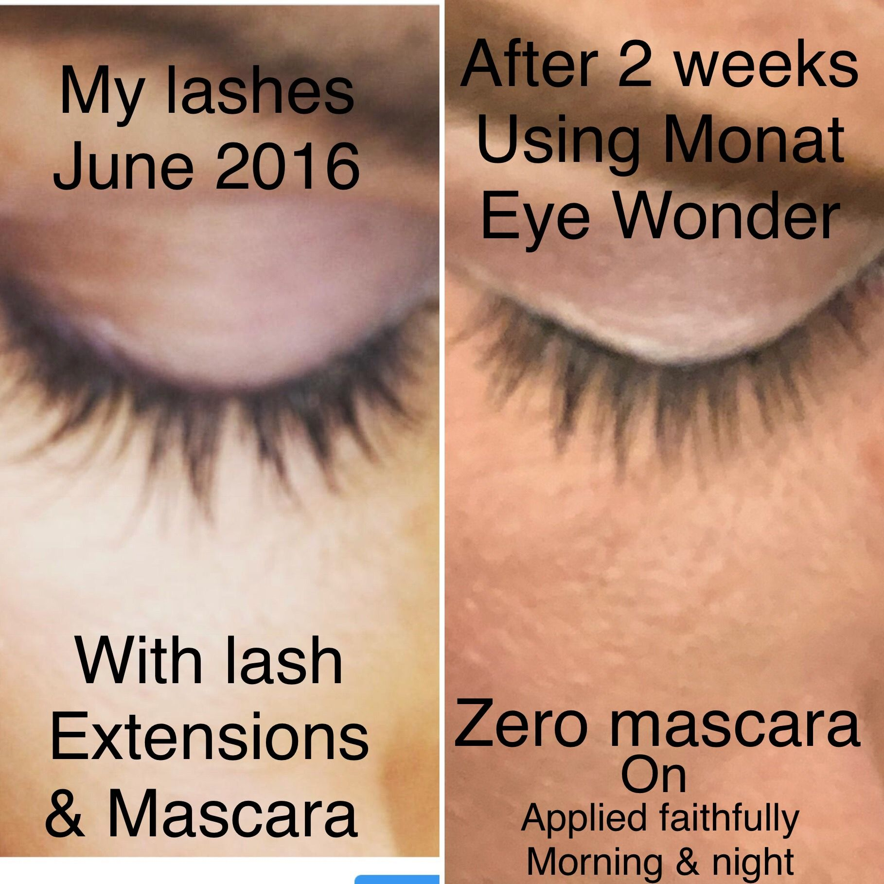 Monat Eye Wonder Lash And Brow Enhancing Serum June 2016 I Had