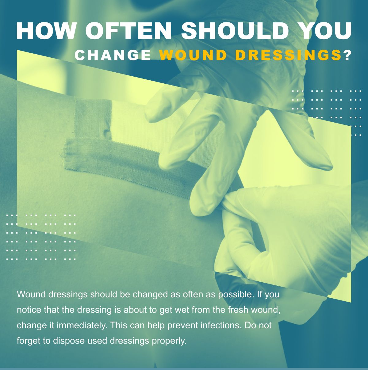 How Often Should You Change Wound Dressings? Visit www