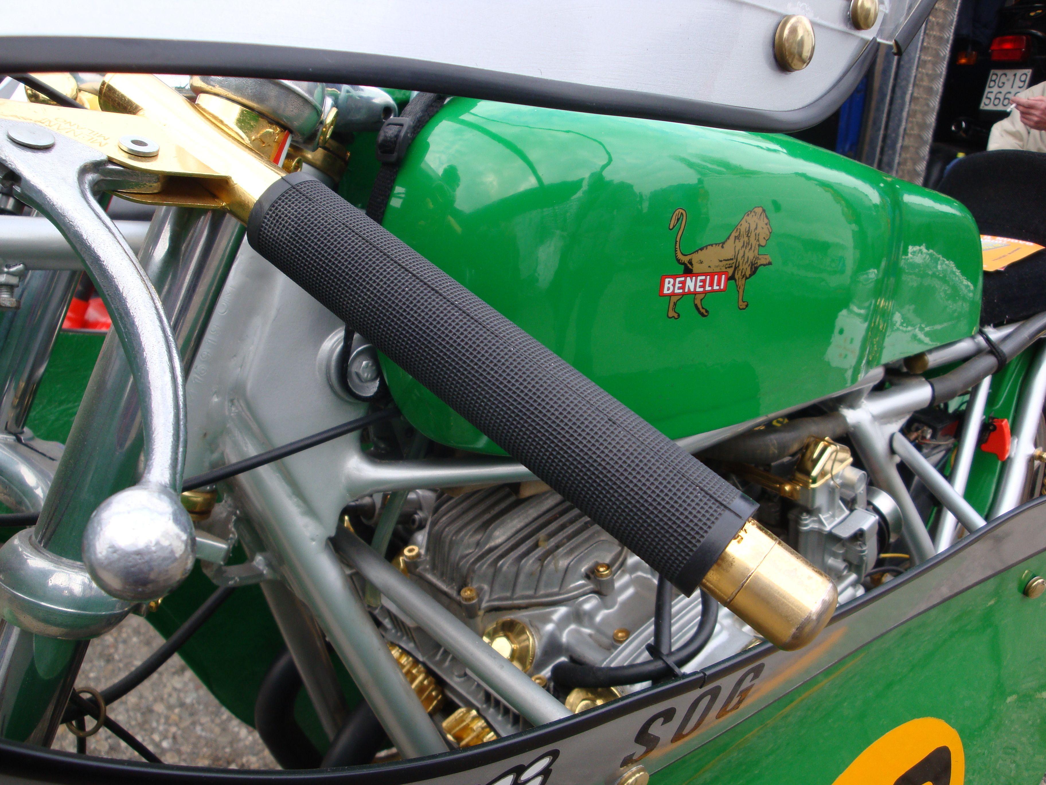 Vintage Benelli Motorcycle 16