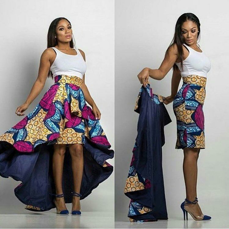 Having A Beautiful Ankara Fabric Is Quite Different From Making The Best Ankara Style From It When It Comes African Print Skirt African Attire African Fashion