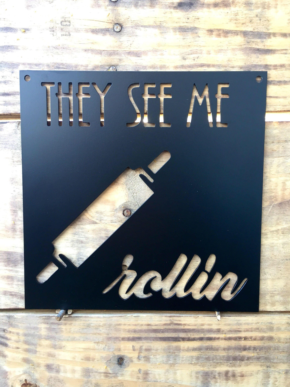 Kitchen Metal Sign Home Decor