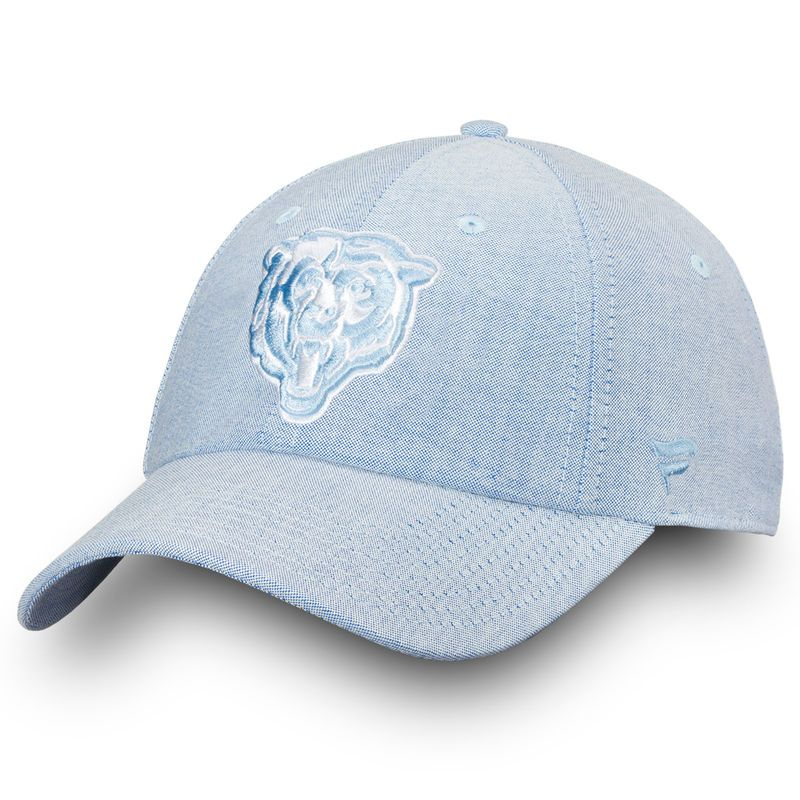brand new d82b3 6fb98 Chicago Bears NFL Pro Line by Fanatics Branded Chambray Fundamental  Adjustable Hat – Navy