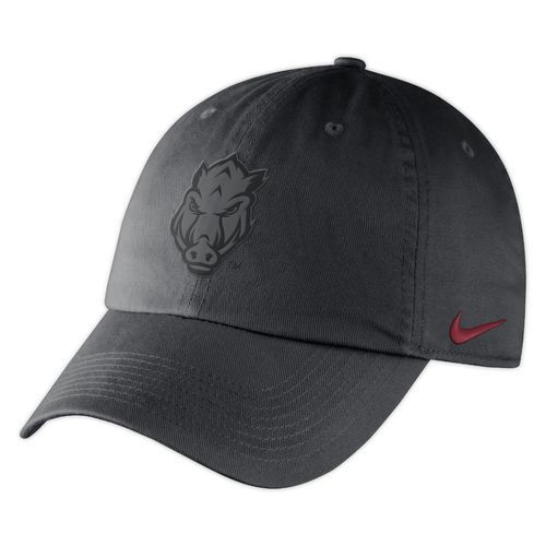 pretty nice 5c984 f041c Nike™ Men s University of Arkansas Heritage86 Matte Cap (Charcoal, Size One  Size) - NCAA Licensed Product, NCAA Men s Caps at Academy Sports
