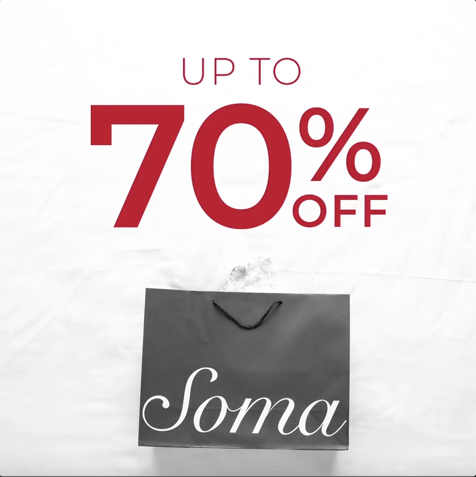7e1903d1c50b Only happens twice a year! The Semi Annual Sale at Soma®! Save up to ...
