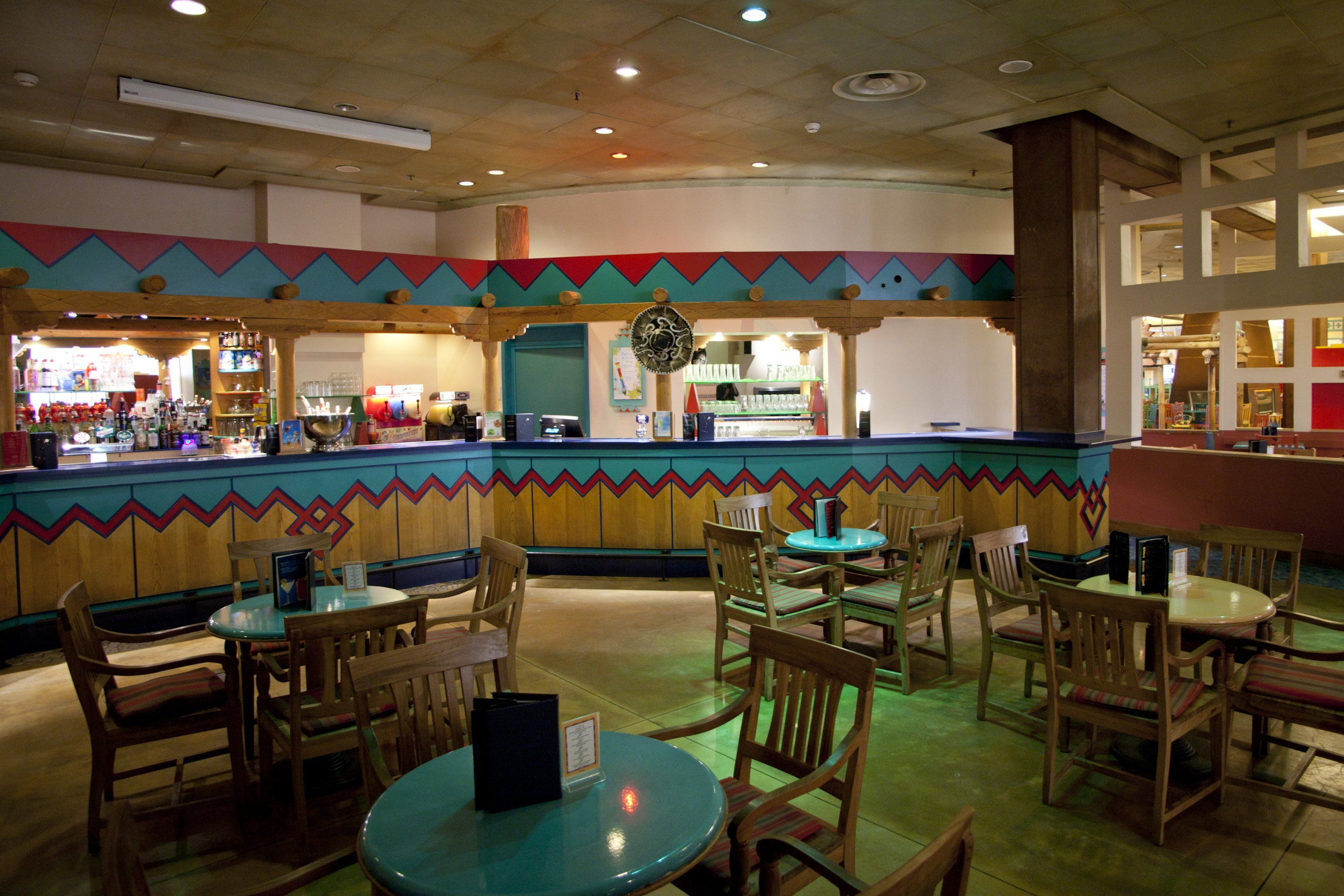 Disney Hotels Santa Fe Rio Grande Bar Disneyland Paris Kid