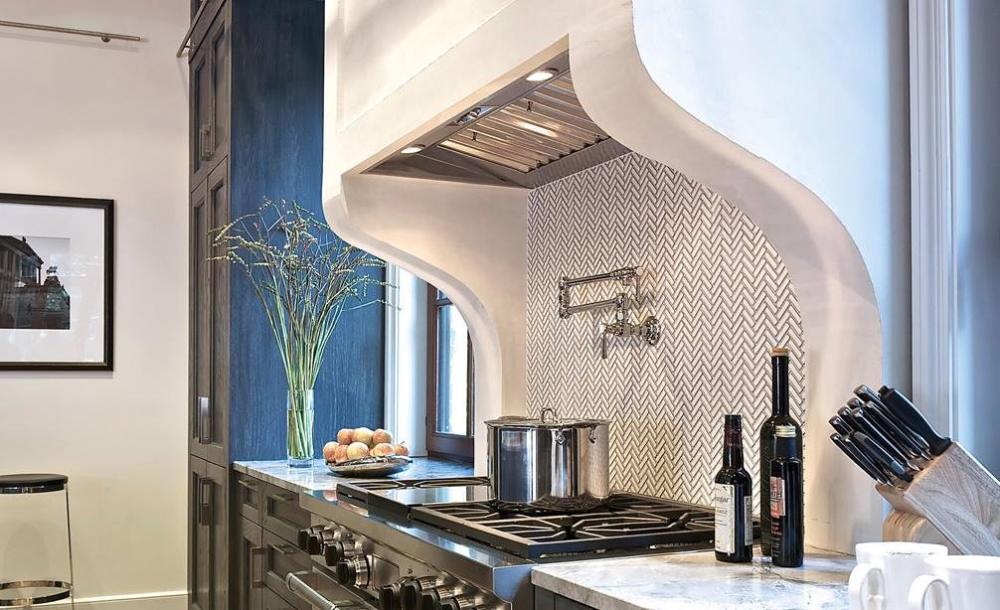 46 Pro Hood Liner 22 Depth In 2020 Custom Cabinetry Grand Kitchen Kitchen Ventilation