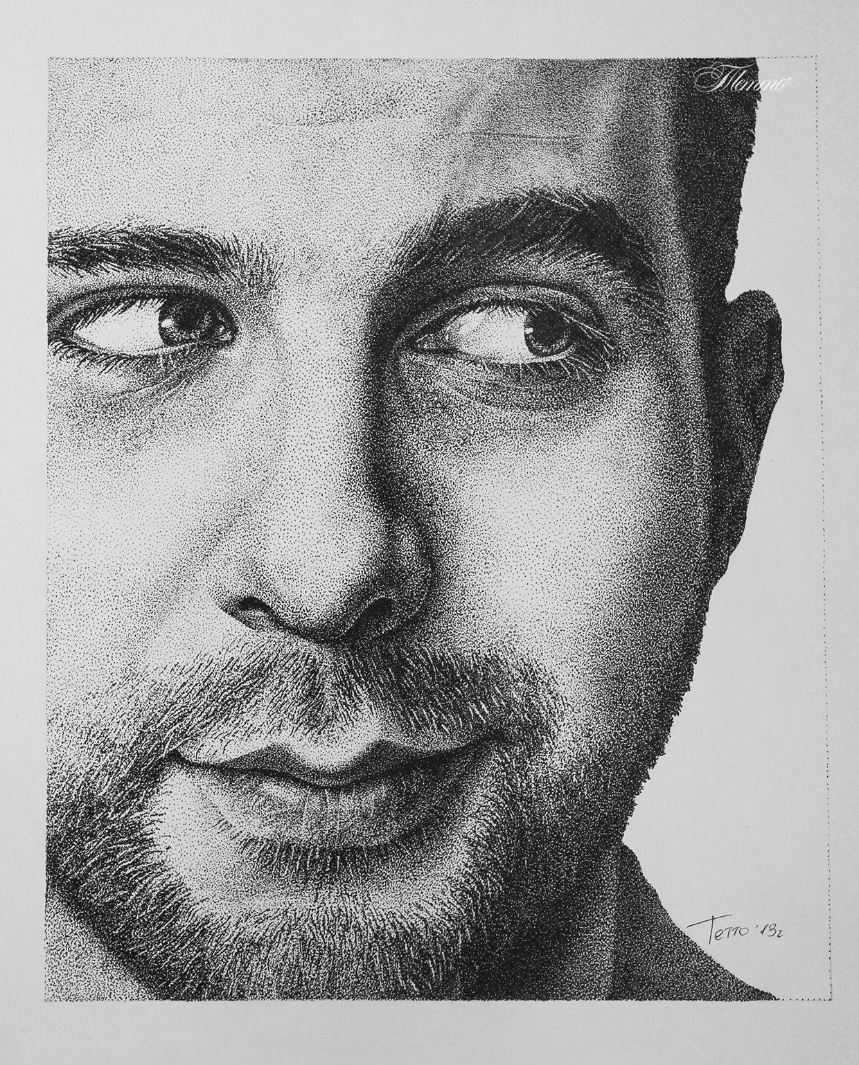 Portrait of Ivan Urgant| Pointillism