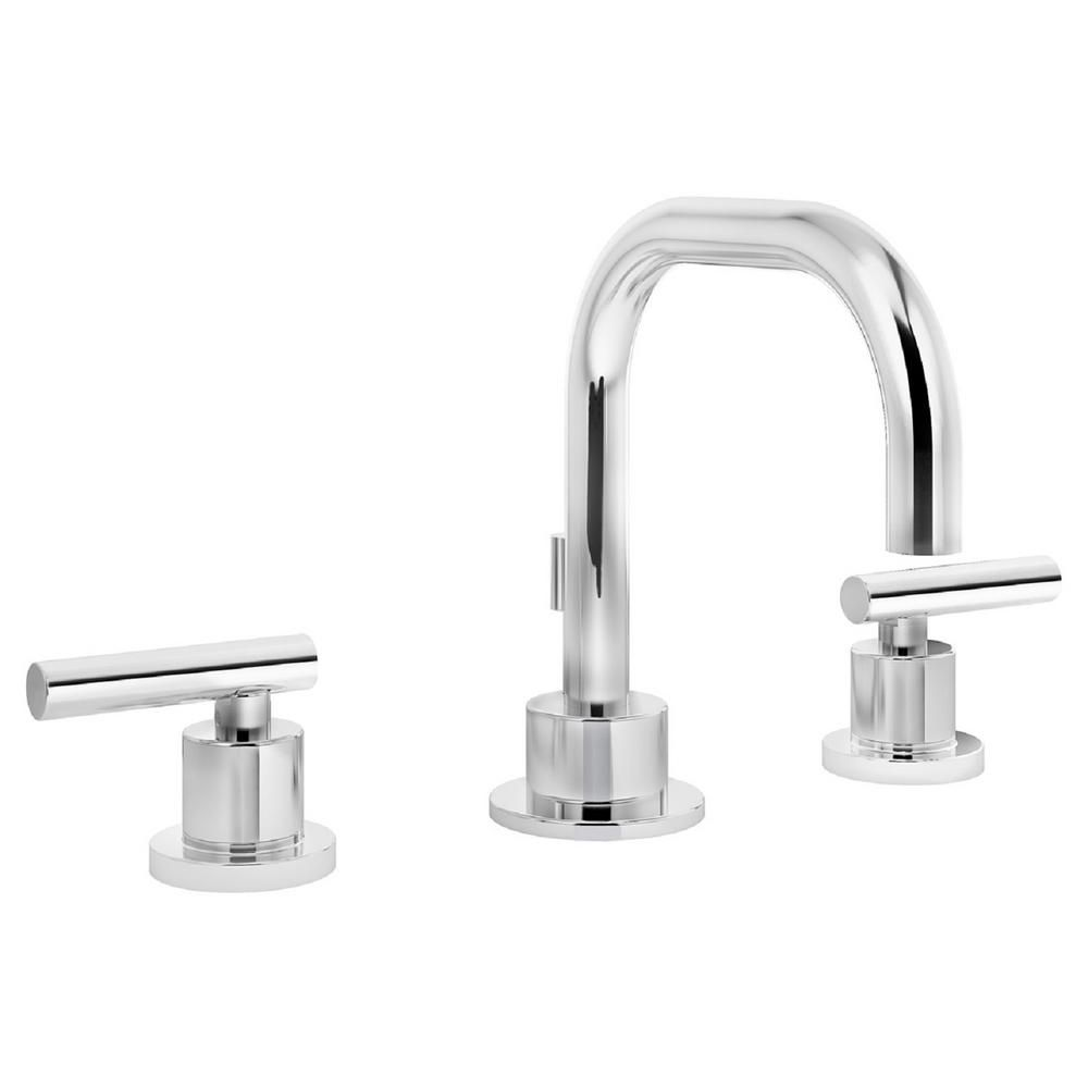 Symmons Dia 8 in. Widespread 2-Handle Bathroom Faucet with Pop-Up ...