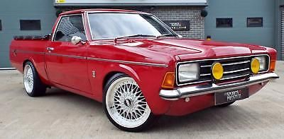 Ebay 1975 Ford Cortina 3 0 V6 P100 Mk 3 Pick Up Classiccars