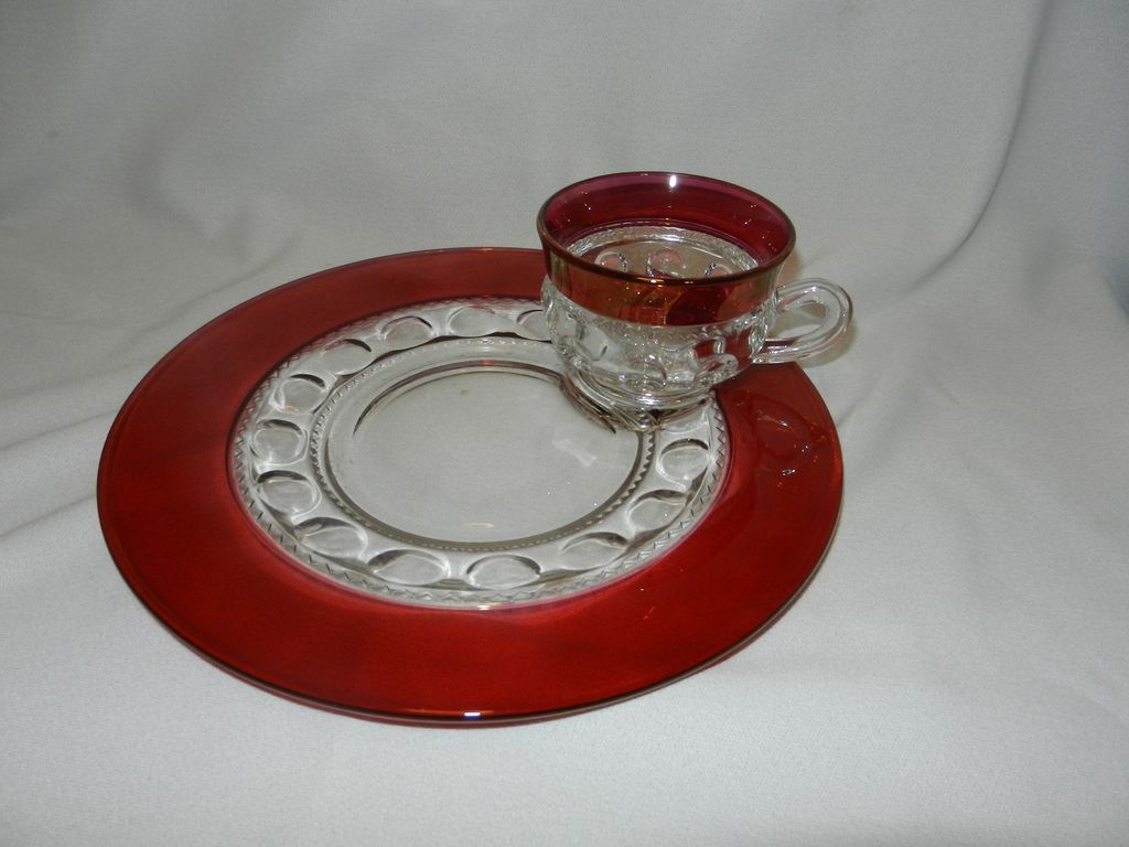 King thumb ruby red dishes