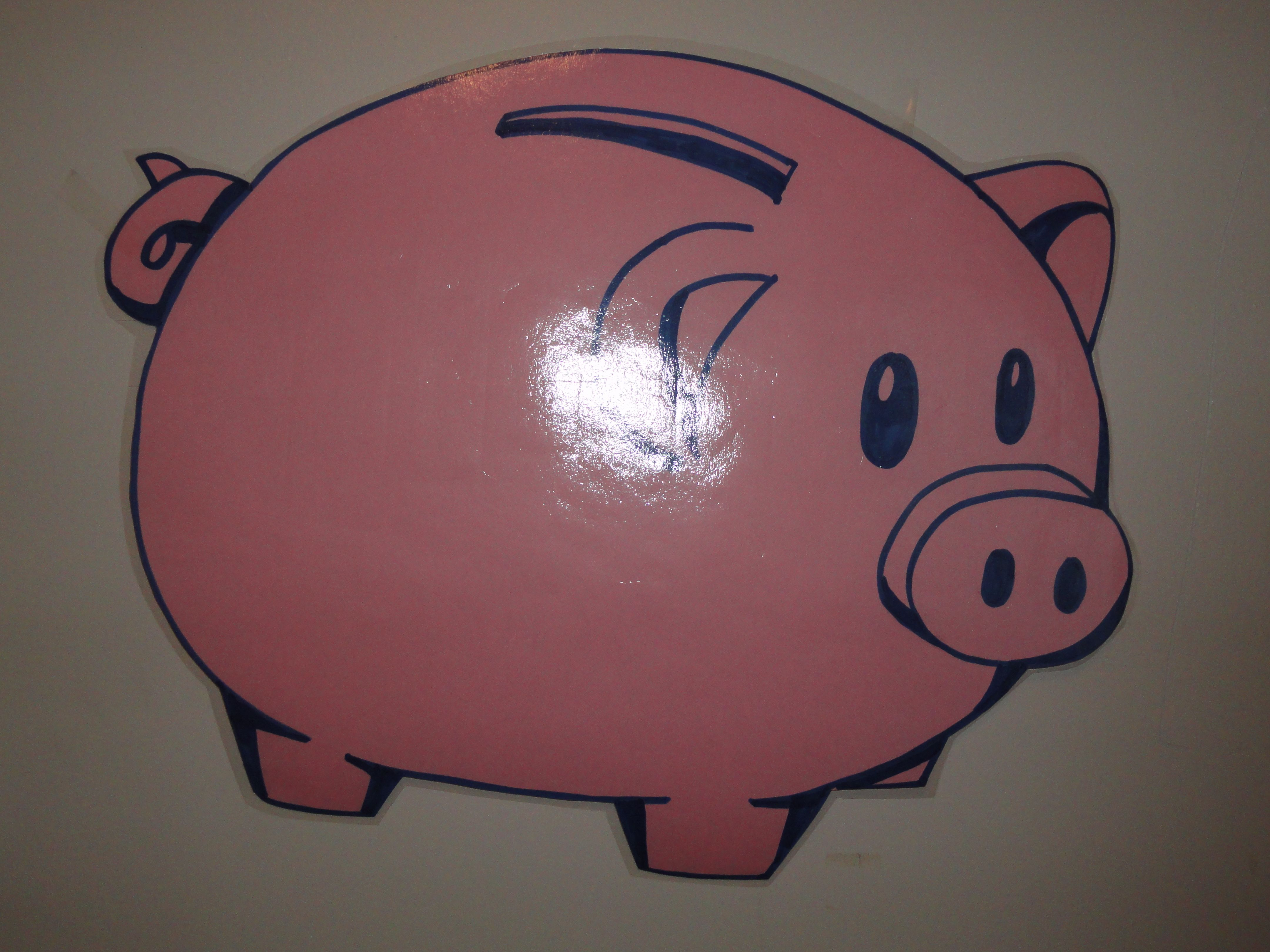 Used This Piggy Bank To Teach Money Adding Subtracting