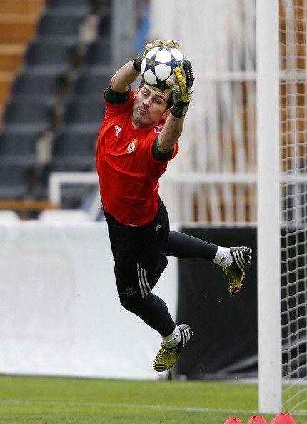Entrenamiento del Real Madrid | Iker Casillas  | porteros