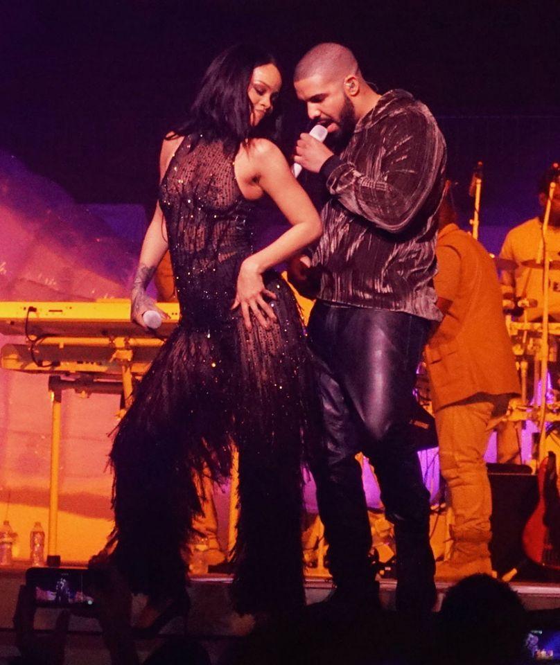 Rihanna And Drake Anti World Tour In Miami Bad Gal Pinterest
