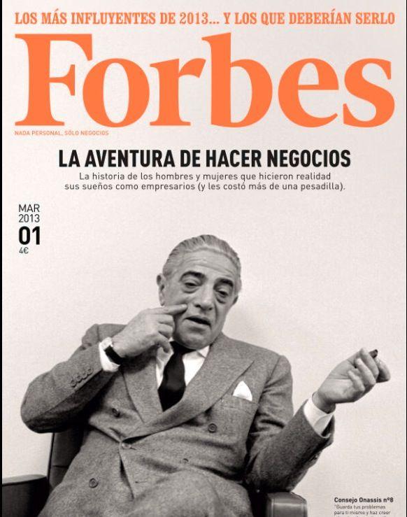 Arranca Forbes en España. Esta es su primera portada. Bienvenidos