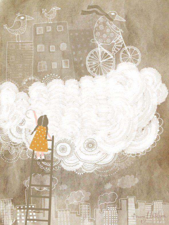 white cloud  | Dinara Mirtalipova