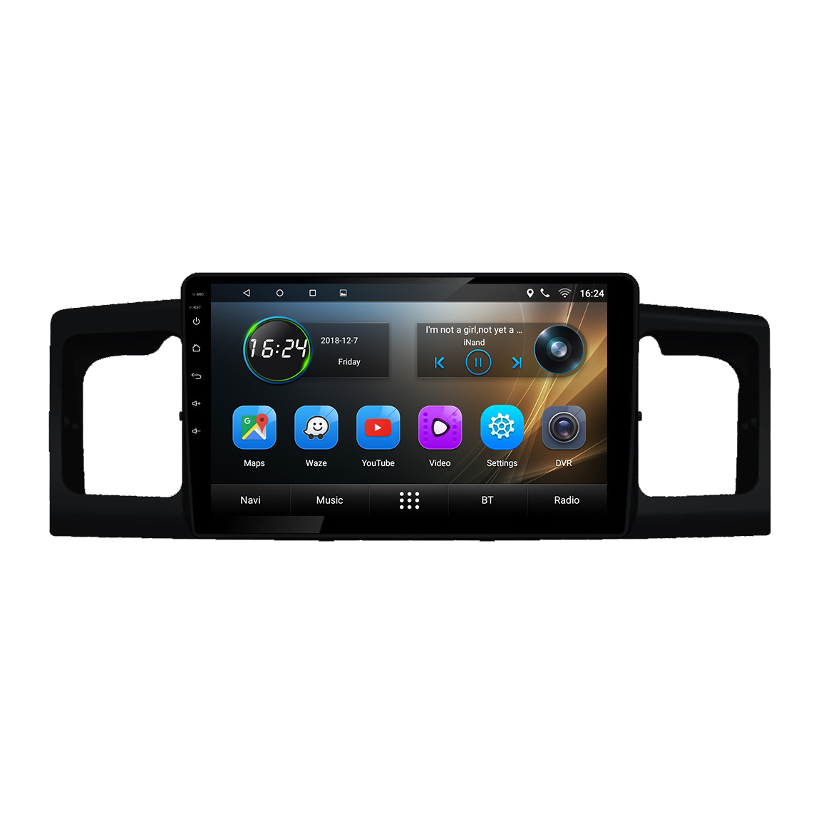Toyota Corolla Android Car Audio System Replacement  Email