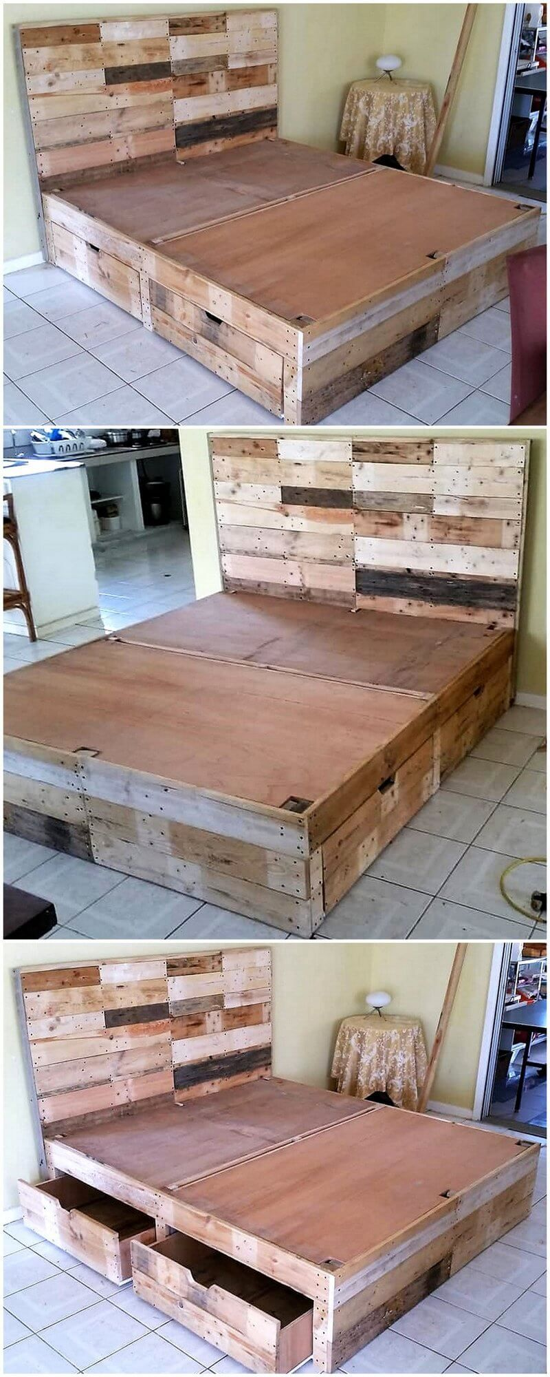 Original Diy Ideas For Wooden Pallets Recycling Wooden Pallet