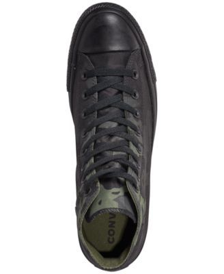 fc77198862ef Converse Men's Chuck Taylor All Star Gradient Camo High Top Casual Sneakers  from Finish Line - Green 8