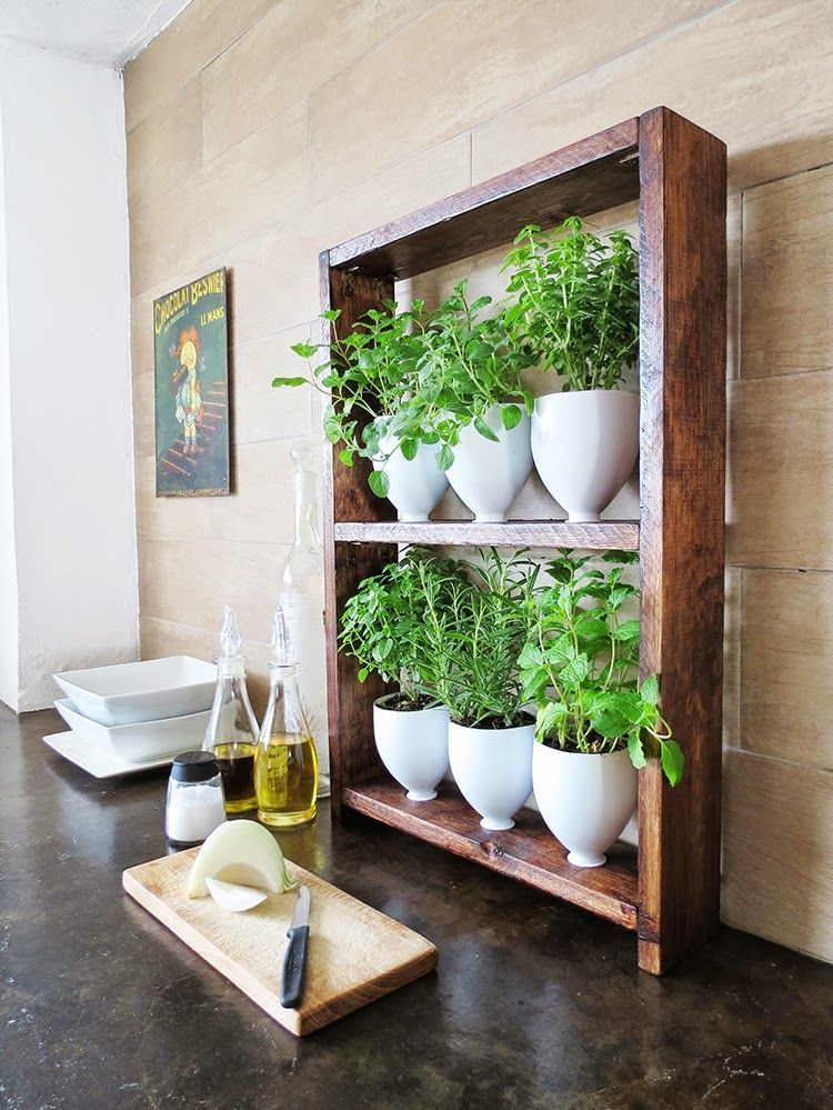 50 projects you can do yourself to update your kitchen pinterest diy kitchen herb garden solutioingenieria Choice Image