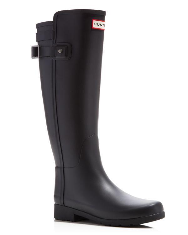 924ce2aeca8 Hunter Original Refined Back Strap Rain Boots |