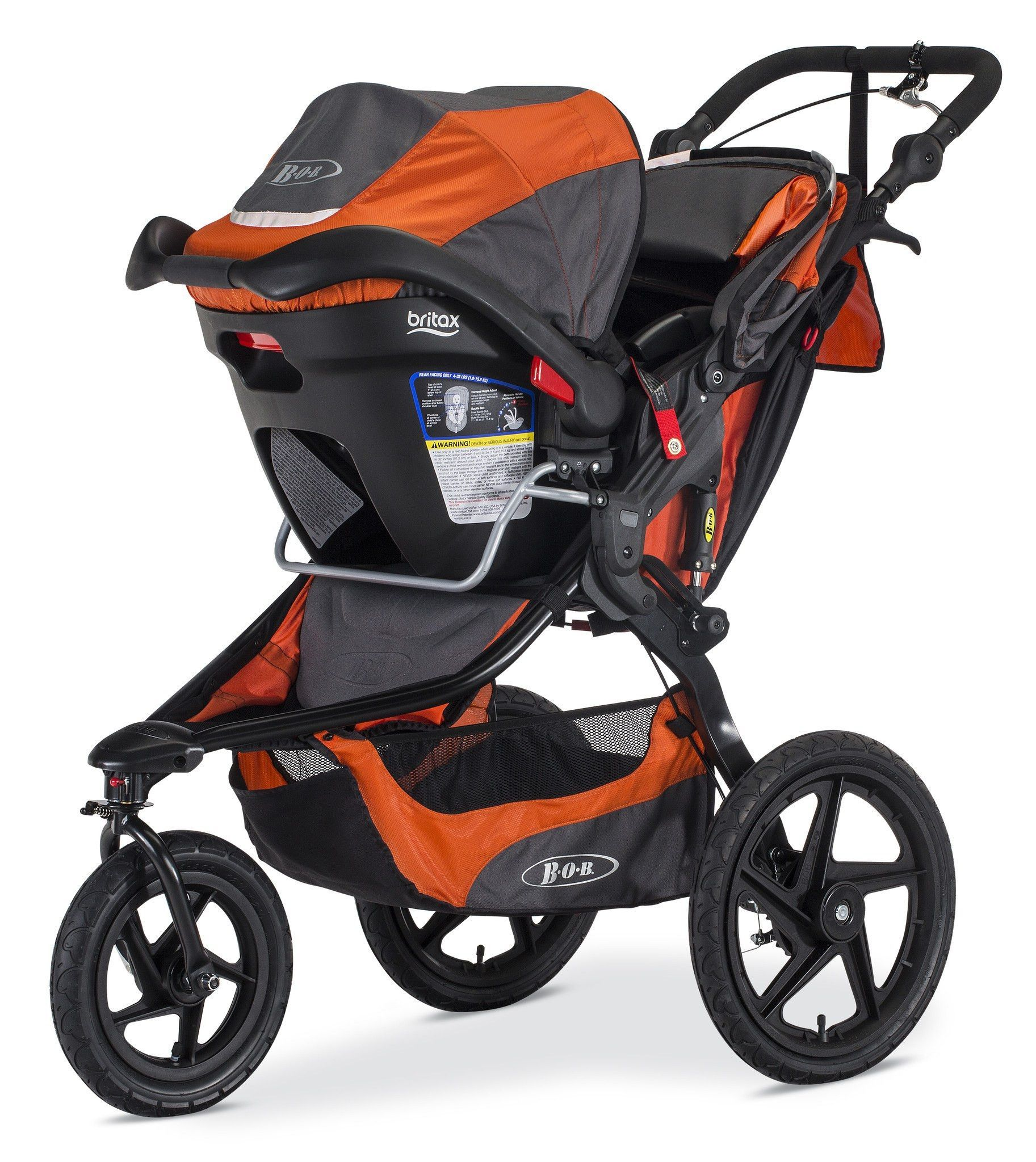 Meet the perfect jogging stroller! The Revolution Pro is