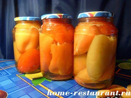 заготовки из перца на зиму золотые рецепты с фото