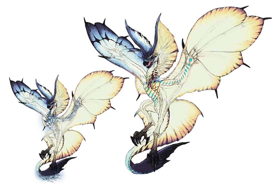 Legiana Concept Artwork From Monster Hunter World Art Artwork