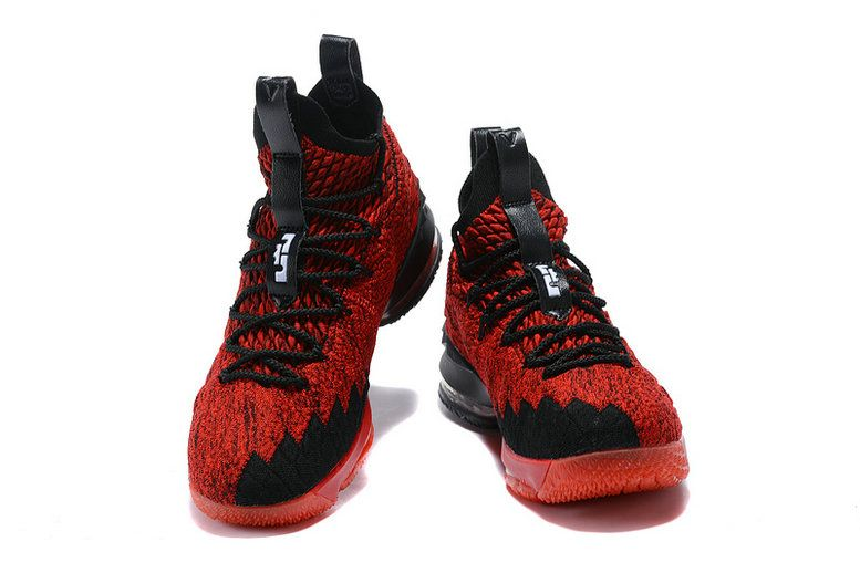 0c9205af3b6 2018-2019 Cheap Official Cheap LeBron Shoes 2018 Lebron James 15 XV Red Black  Basketball Shoes