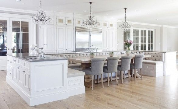 Is This the Most Luxurious Kitchen You've Ever Seen? | French ... French Provenchal Kitchen Dining Room Ideas on