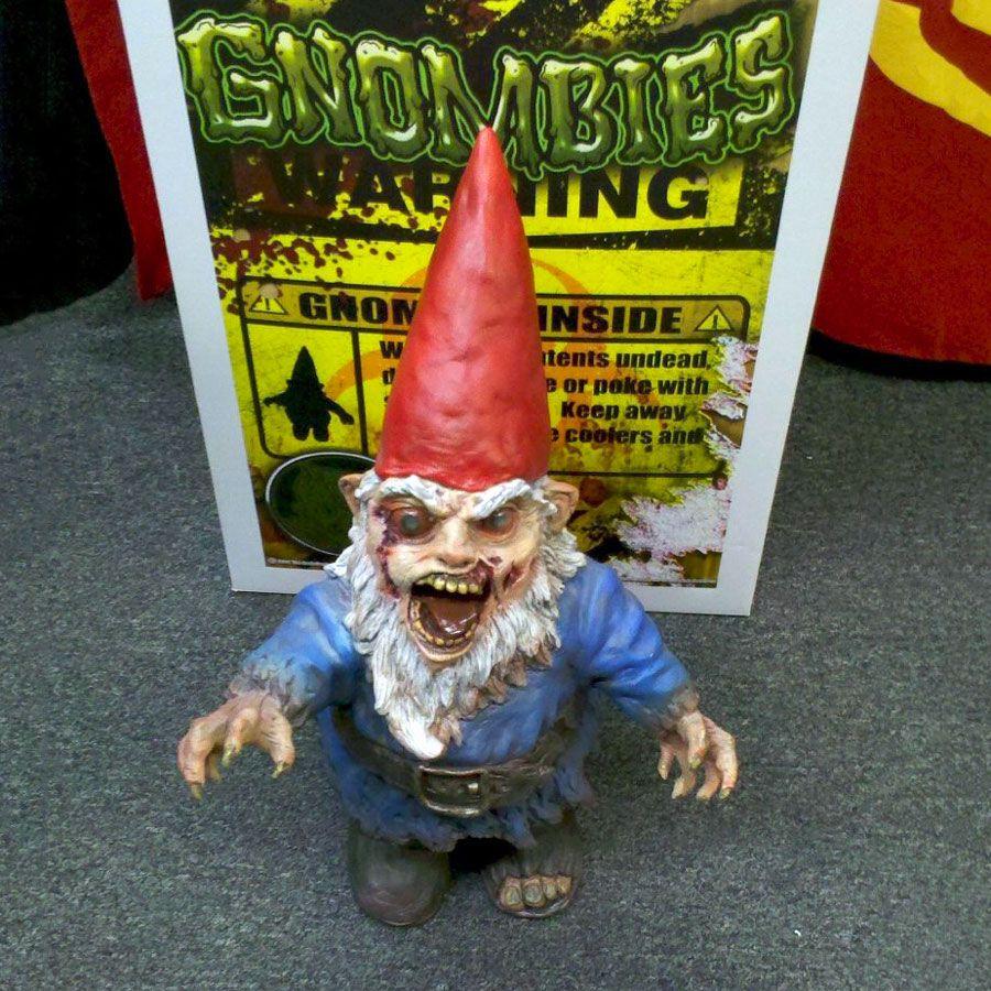 Gnombie - Zombie Garden Gnome - The Green Head