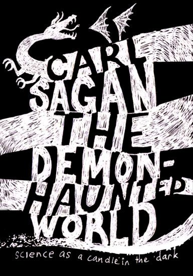 The Demon Haunted World - book cover by Jim Tierney