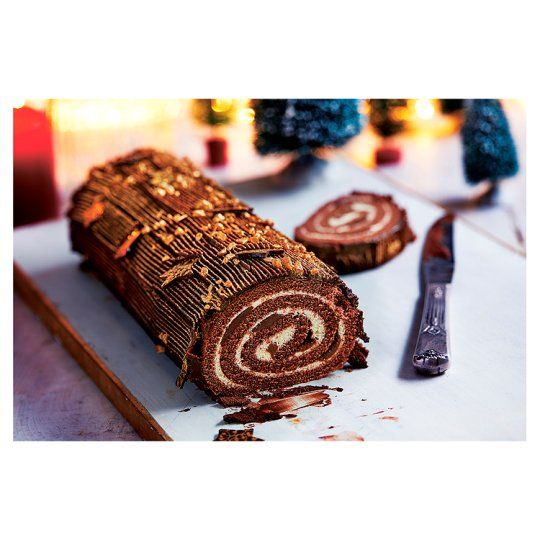 98 Easy Entertaining Chocolate Log 925g Chocolate Log