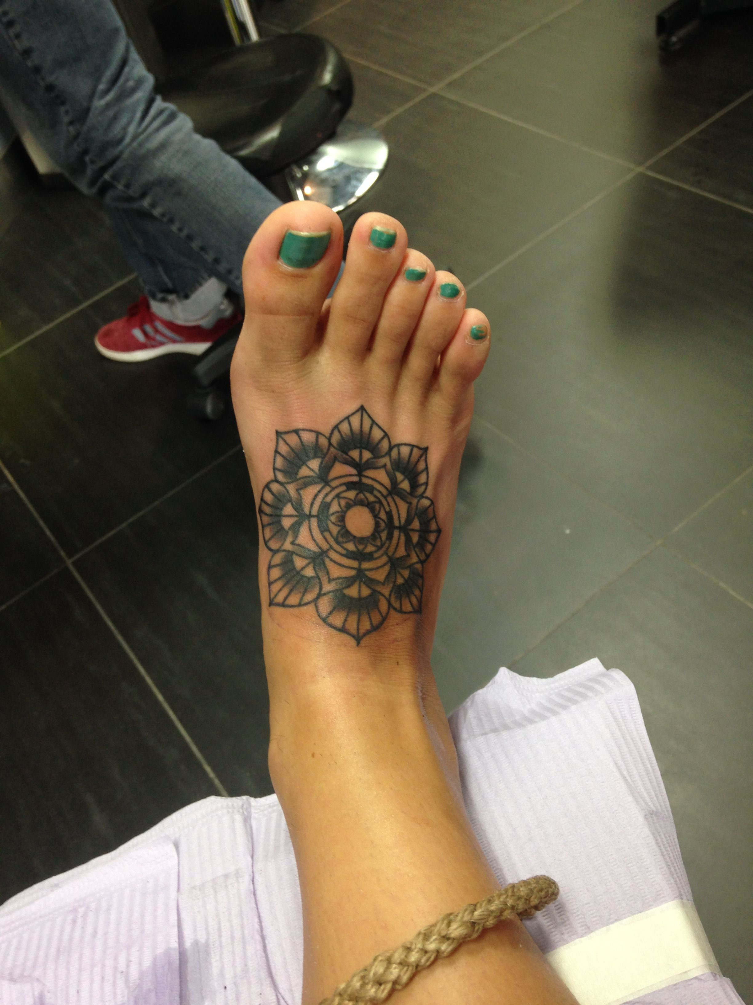 Tattoo Foot Tattoo Lotus Flower Mandela Love Tattoos