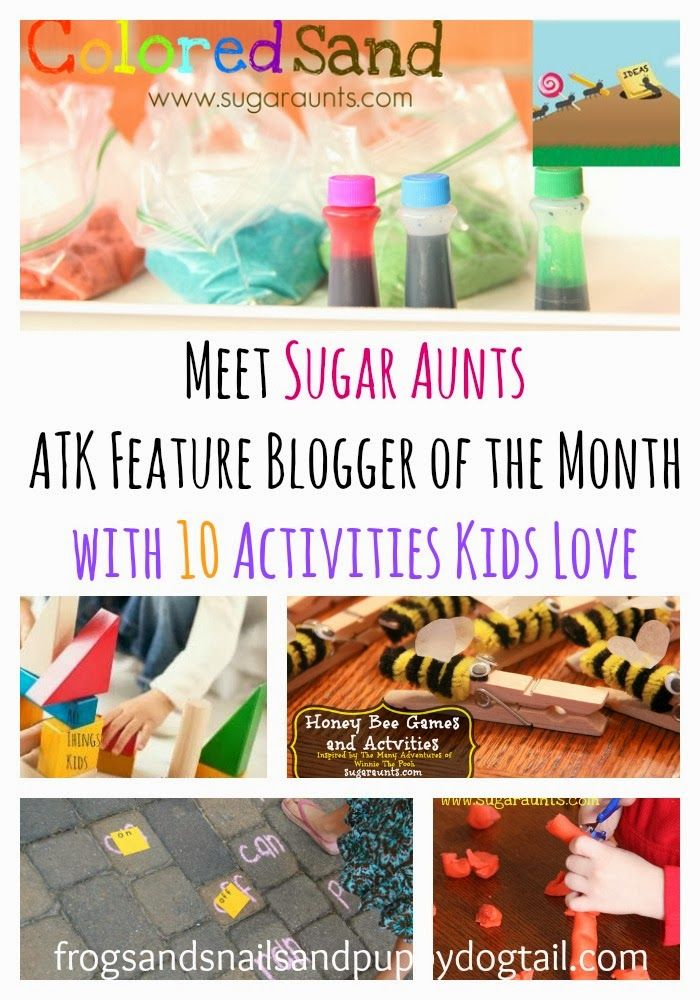 Photo of Meet Sugar Aunts ATK Feature Blogger of the Month by FSPDT 10 awesome kids activ…