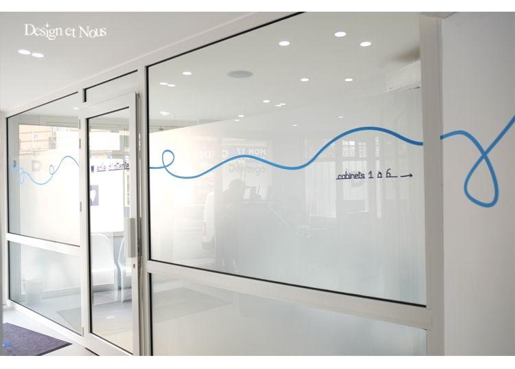 photo4 sticker cabinet medical autocollants 2014 centre hopital signaletique vitrines. Black Bedroom Furniture Sets. Home Design Ideas