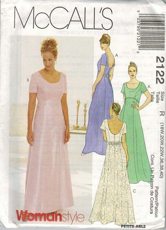 Mccalls 2122 Plus Size Maxi Dress Pattern Sizes By Aseamintime