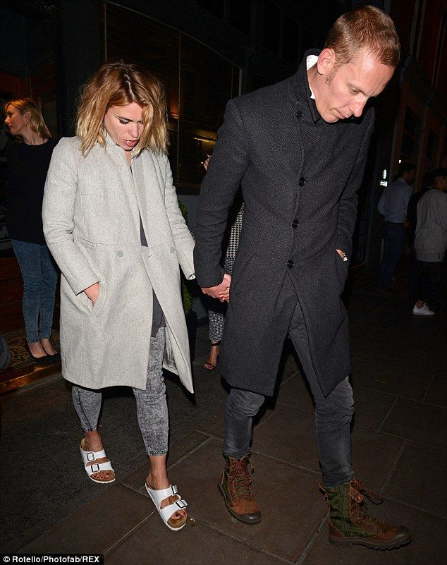 ff3f85275 Billie Piper took the unusual step of wearing a pair of Birkenstock sandals