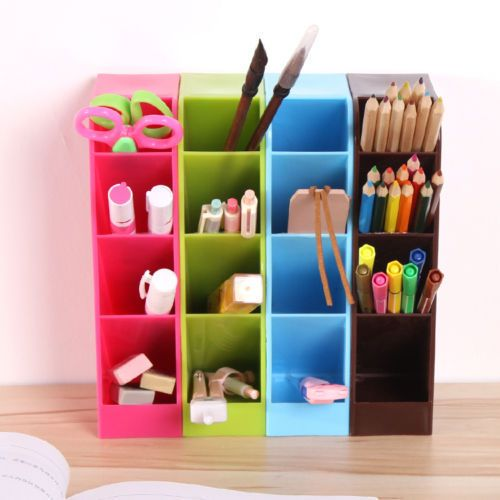 Multifunction Stationery Organizer Storage Box Desk Accessories Desk Organizer #Unbranded