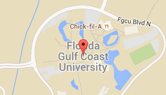 Florida Gulf Coast Map.Map Of Florida Gulf Coast University Isabelita Florida Map Of