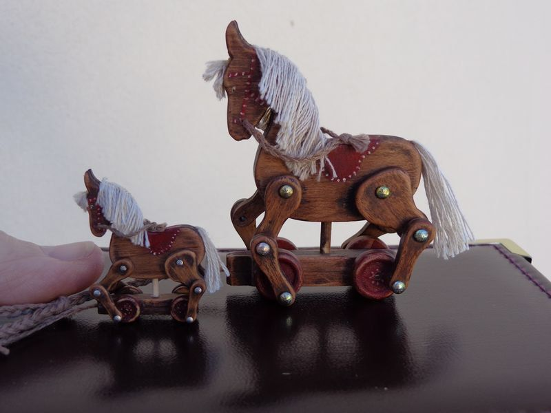 Horse  Miniature Dollhouse Doll House Picture