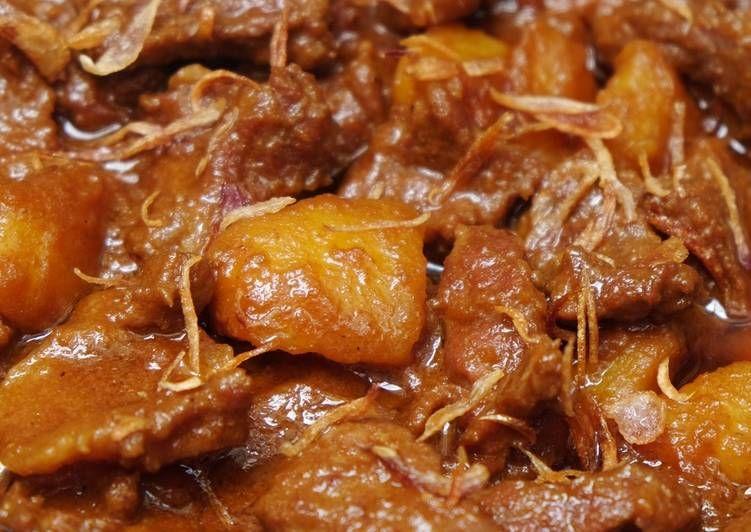 Resep Semur Daging Kentang Oleh Susi Agung Resep Semur Daging Resep Makanan Memasak