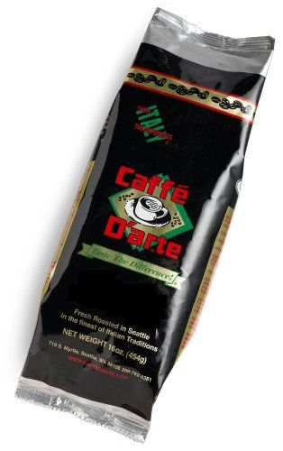 Caffe D'arte Espresso Decaf Whole Bean Coffee, 16-Ounce Foil Bags (Pack of 2) - http://www.teacoffeestore.com/caffe-darte-espresso-decaf-whole-bean-coffee-16-ounce-foil-bags-pack-of-2/