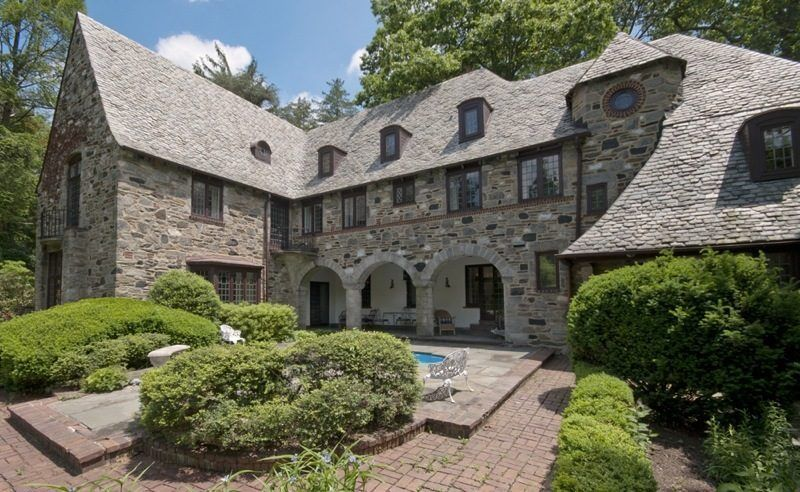 The Glen Castle: Gorgeously well-preserved French Normandy style estate home outside Philadelphia in Rose Valley, PA