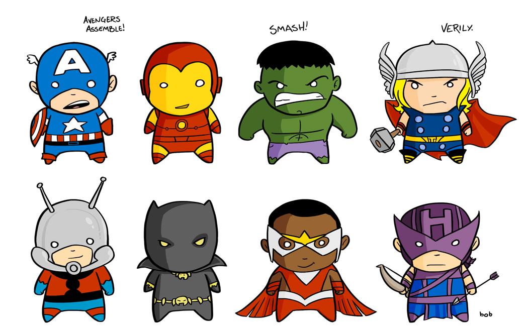 Pin By Wei Yi On Marvel Universe Avengers Drawings Chibi Cute Cartoon