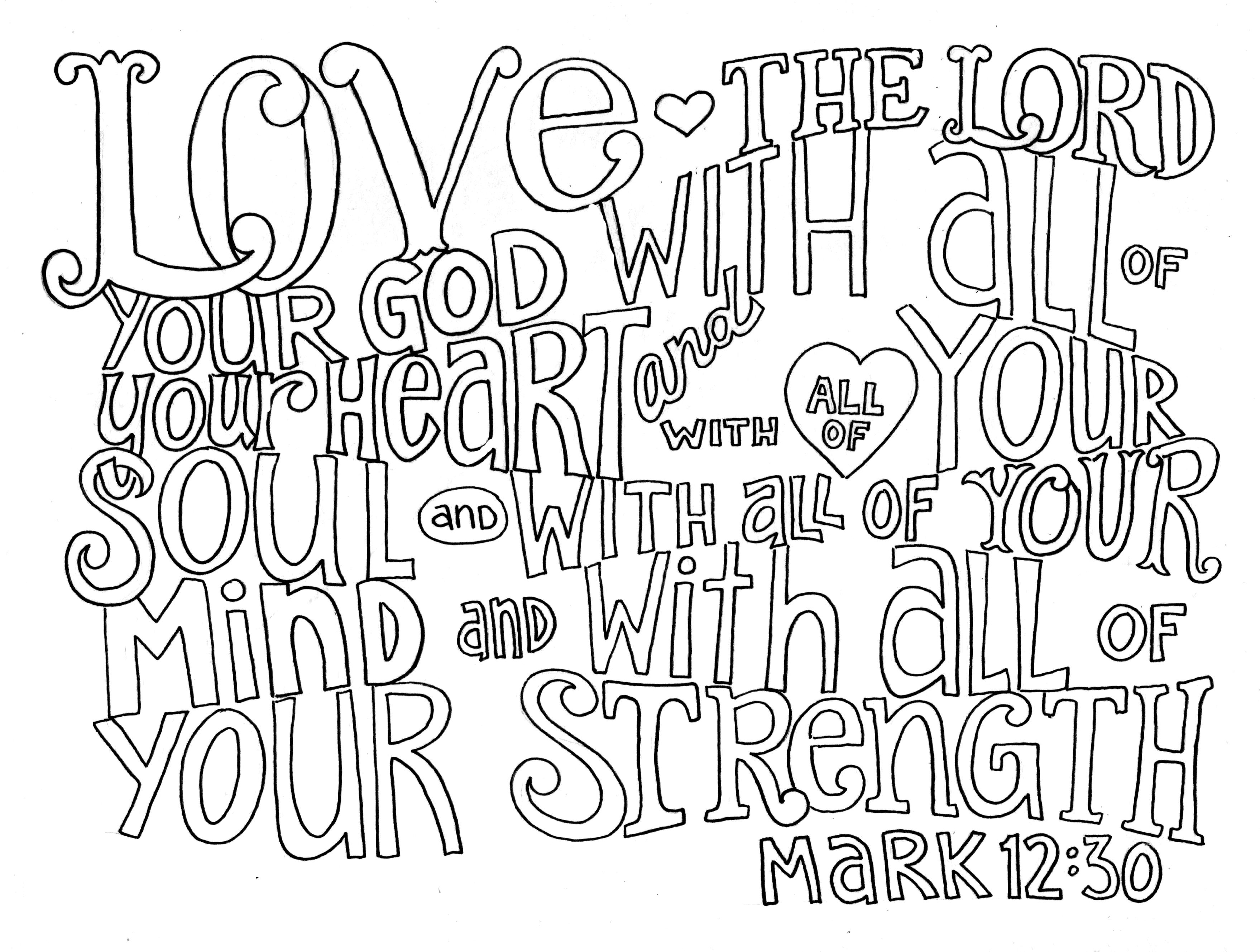 God Is Love Coloring Page God Is Love Coloring Pages Az