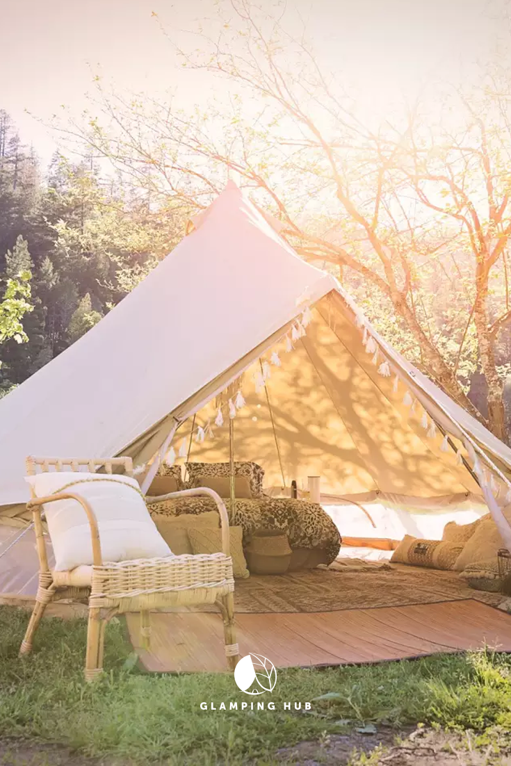 Luxurious Tent Vacation Rental on Glamping Site near Salem ...