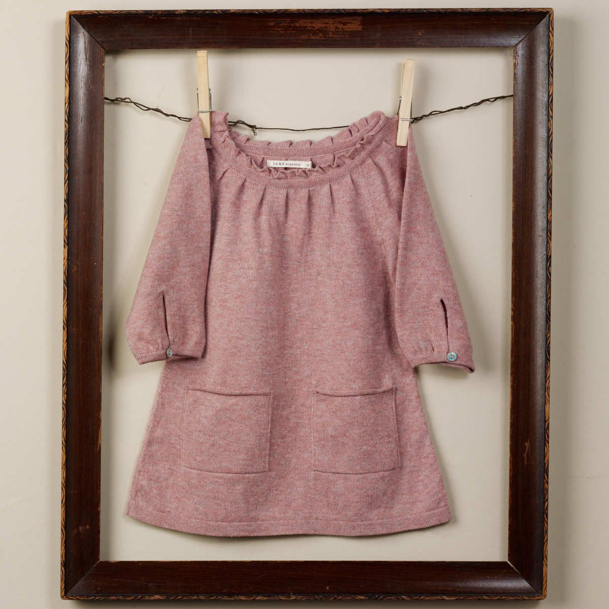 Love this framing idea for my son\'s baby clothing   Child\'s Play ...